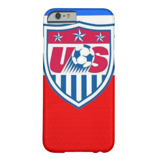 Capa Barely There Para iPhone 6 Caso do futebol dos EUA