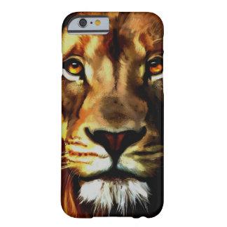 Capa Barely There Para iPhone 6 Caso do iPhone 6/6s da cara do leão
