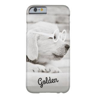 Capa Barely There Para iPhone 6 Caso do iPhone 6/6S do golden retriever