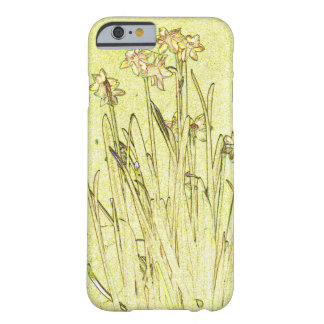 Capa Barely There Para iPhone 6 Caso do iPhone 6/6s dos Daffodils