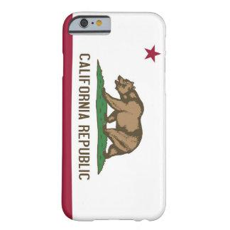 Capa Barely There Para iPhone 6 caso do iPhone 6 com a bandeira de Califórnia