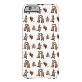 Capa Barely There Para iPhone 6 Caso do iPhone 6 da agitação do cão de pradaria