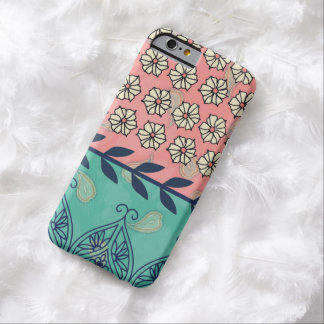 Capa Barely There Para iPhone 6 Caso do iPhone 6 da margarida de Boho