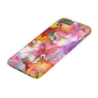 Capa Barely There Para iPhone 6 Caso do iPhone 6 das borboletas do hibiscus mal lá