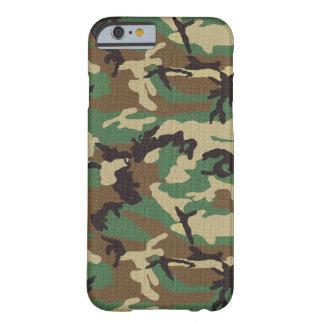 Capa Barely There Para iPhone 6 Caso do iPhone 6 de Camo do exército da floresta