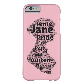 Capa Barely There Para iPhone 6 Caso do iPhone 6 de Jane Austen