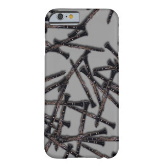 Capa Barely There Para iPhone 6 Caso do iphone 6 do clarinete