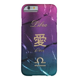 Capa Barely There Para iPhone 6 Caso do iPhone 6 do sinal do zodíaco do ~ do amor