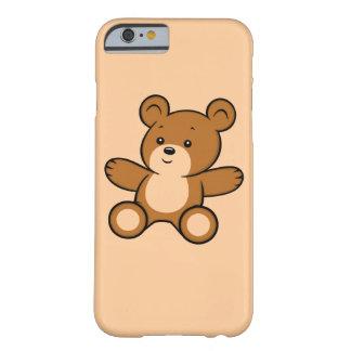 Capa Barely There Para iPhone 6 Caso do iPhone 6 do urso de ursinho dos desenhos