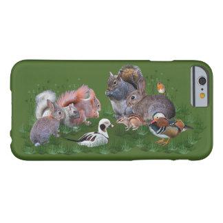 Capa Barely There Para iPhone 6 Caso do iPhone 6 dos animais da floresta