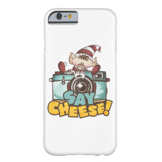 Capa Barely There Para iPhone 6 Caso feliz do iPhone 6/6s do queijo do duende