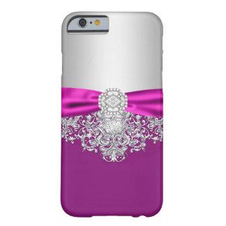 Capa Barely There Para iPhone 6 Caso feminino do brilho do jewell