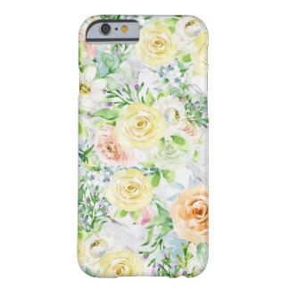 Capa Barely There Para iPhone 6 Caso forte do iPhone 6/6s da flor
