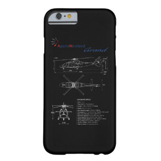 Capa Barely There Para iPhone 6 Caso grande do iPhone 6 de AgustaWestland AW109