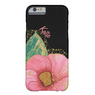 Capa Barely There Para iPhone 6 Caso impressionante do iPhone 6 do hibiscus do