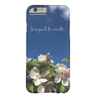 Capa Barely There Para iPhone 6 Caso inspirado bonito do iphone 6 do céu e da flor