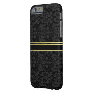 Capa Barely There Para iPhone 6 CASO Luxe do estilo IPHONE 6 do DAMASCO do OURO