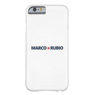 Capa Barely There Para iPhone 6 Caso magro do iphone 6 do ajustado de Marco Rubio