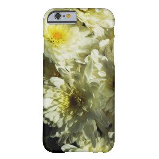 Capa Barely There Para iPhone 6 Caso Queda-Temático - crisântemos brancos