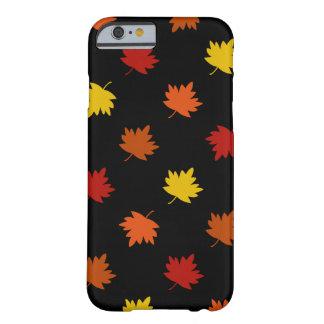 Capa Barely There Para iPhone 6 Caso Queda-Temático - folhas de bordo da polca,