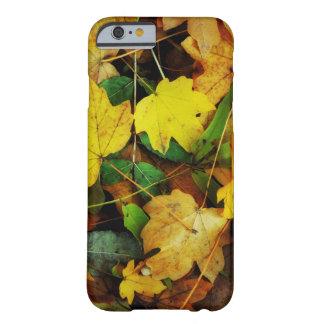Capa Barely There Para iPhone 6 Caso Queda-Temático - folhas do ouro