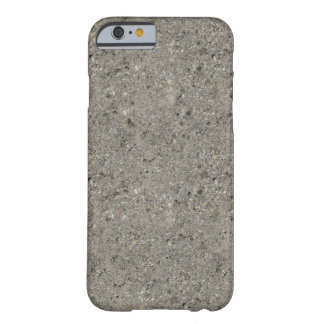 Capa Barely There Para iPhone 6 Caso revestido concreto do iPhone 6