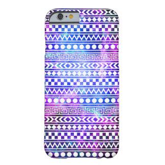 Capa Barely There Para iPhone 6 Caso tribal asteca feminino do iPhone 6 da galáxia