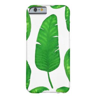 Capa Barely There Para iPhone 6 Caso tropical do iPhone 6/6s das folhas de