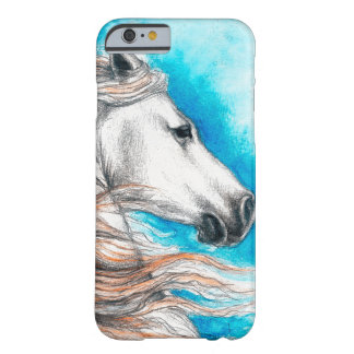 Capa Barely There Para iPhone 6 Cavalo andaluz