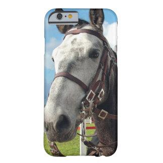 Capa Barely There Para iPhone 6 Cavalo puro da raça