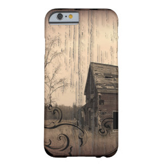 Capa Barely There Para iPhone 6 celeiro velho da casa da quinta primitiva do país