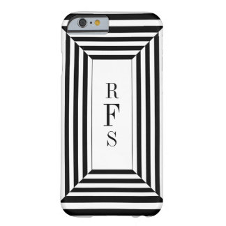 CAPA BARELY THERE PARA iPhone 6 CHIC_IPHONE CASE_BLACK LISTRA W/MONOGRAM