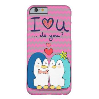 Capa Barely There Para iPhone 6 Chipkoo eu te amo