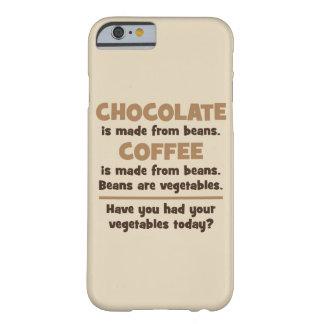 Capa Barely There Para iPhone 6 Chocolate, café, feijões, vegetais - novidade