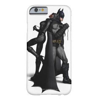 Capa Barely There Para iPhone 6 Cidade   Batman de Batman Arkham e mulher-gato