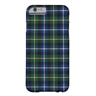 Capa Barely There Para iPhone 6 Clã MacNeil do Tartan azul e verde de Barra