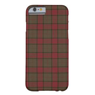 Capa Barely There Para iPhone 6 Clã Maxwell Brown e Tartan escocês vermelho da