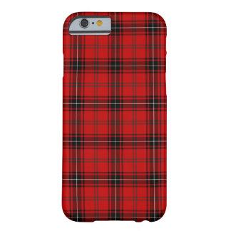 Capa Barely There Para iPhone 6 Clã Tartan vermelho e preto de Wemyss