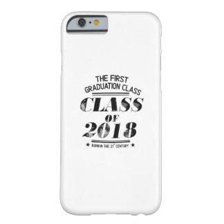 Capa Barely There Para iPhone 6 Classe do presente 2018 engraçado da graduação