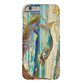 Capa Barely There Para iPhone 6 Clube do Hammock da sereia de Maui
