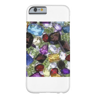 Capa Barely There Para iPhone 6 Cobrir #1 do telefone de pedra preciosa de Bling