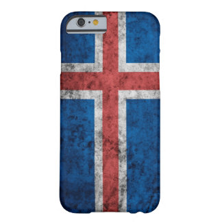 Capa Barely There Para iPhone 6 Cobrir do iPhone 6/6s da bandeira de Islândia