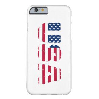 Capa Barely There Para iPhone 6 Cobrir do telefone dos EUA