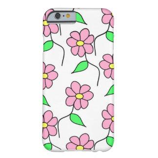 Capa Barely There Para iPhone 6 Cobrir florido do iPhone para meninas