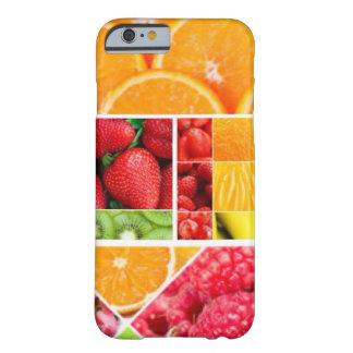 Capa Barely There Para iPhone 6 Colagem da fruta da mistura
