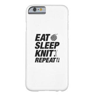 Capa Barely There Para iPhone 6 Coma a repetição da malha do sono