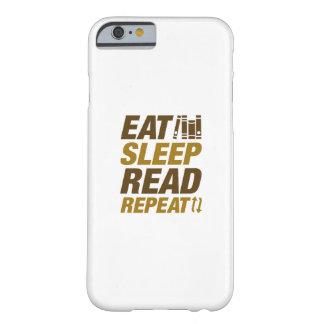 Capa Barely There Para iPhone 6 Coma a repetição lida sono
