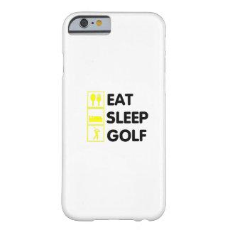 Capa Barely There Para iPhone 6 Coma o vovô Golfing engraçado do pai do presente