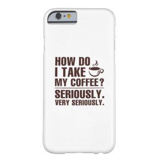 Capa Barely There Para iPhone 6 Como I toma meu café