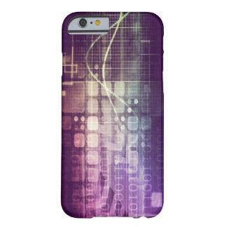 Capa Barely There Para iPhone 6 Conceito abstrato futurista na tecnologia